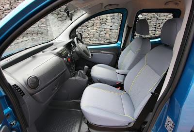 2010 Peugeot Bipper Tepee Seats