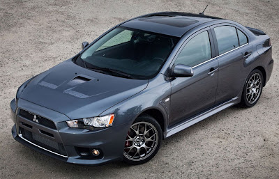 2010 Mitsubishi Evo MR Touring Sport Car