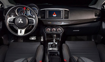 2010 Mitsubishi Evo MR Touring Interior