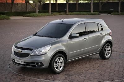 2010 Chevrolet Agile Car Picture