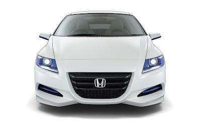 2009 Honda CRZ Concept Front View