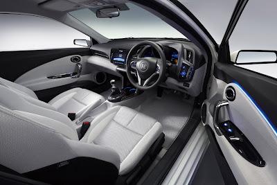 2009 Honda CRZ Concept Interior