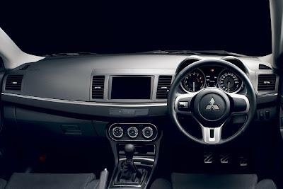 2010 Mitsubishi Lancer Evo X Interior