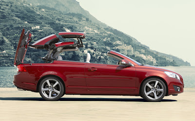 2010 Volvo C70 Side View