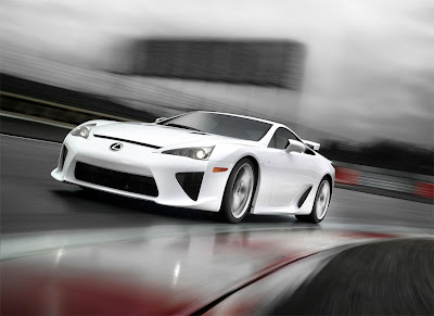 2011 Lexus LFA Car Wallpaper