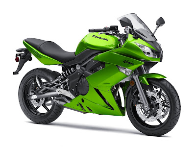 2010 Kawasaki Ninja 650R Fighting Sport