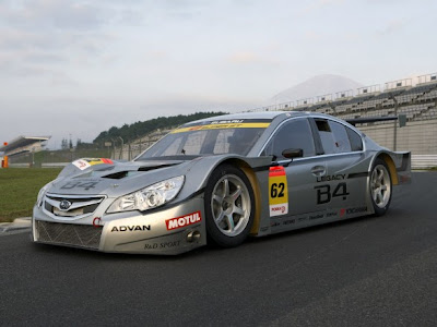 2009 Subaru Legacy B4 GT300 Wallpaper