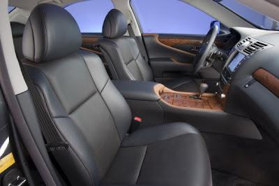 2010 Lexus LS 460 Sport Interior