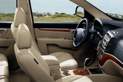 2010 Hyundai Santa Fe Interior