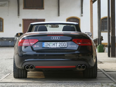 2010 MTM Audi S5 Cabrio Michelle Edition Rear View