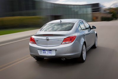 2011 Buick Regal Rear View
