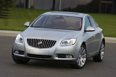 2011 Buick Regal Front View
