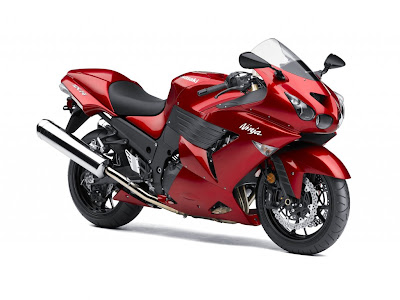 2010 Kawasaki Ninja ZX-14 Red Series