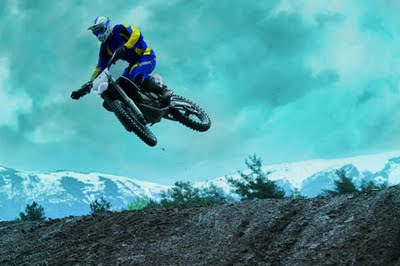 2010 Husaberg FX 450 Action