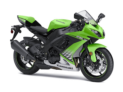 2010 Kawasaki Ninja ZX-10R Green