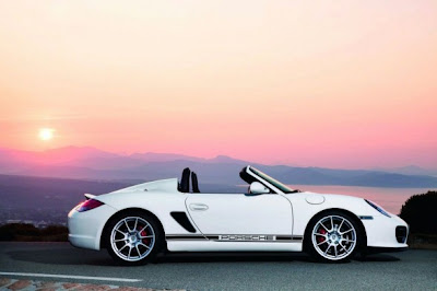 2010 Porsche Boxster Spyder Side View