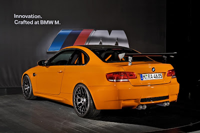 2011 BMW M3 GTS Rear Side View