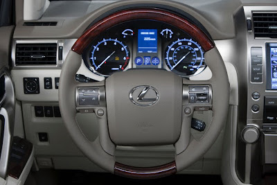 2010 Lexus GX460 Steering Wheel