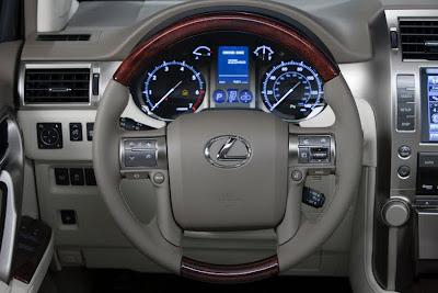 2010 Lexus GX460 Steering Wheel