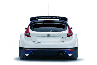 2010 Ford Fiesta S2000 Rear View