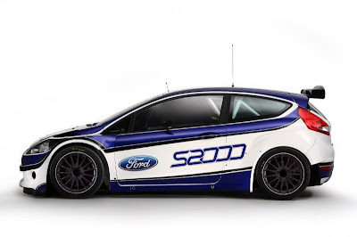 2010 Ford Fiesta S2000 Side View