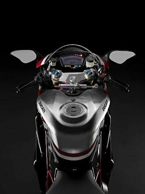 2010 Ducati 1198R Corse Special Edition Tank