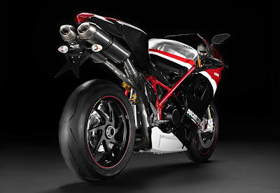 2010 Ducati 1198R Corse Special Edition Rear View