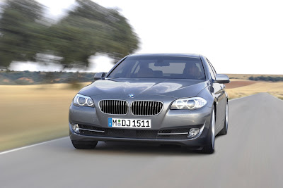 2011 BMW 5-Series Front View