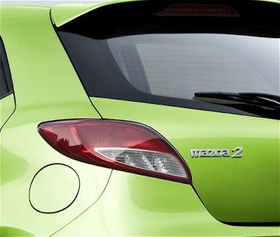 2011 Mazda2 Taillight