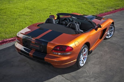 2010 Dodge Viper SRT10 Rear Side View