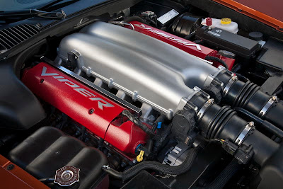 2010 Dodge Viper SRT10 Turbo Engine