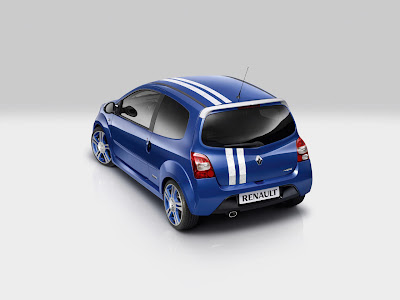 2010 Renault Twingo Gordini RS Rear Angle View