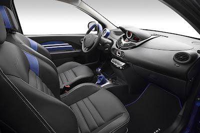 2010 Renault Twingo Gordini RS Interior