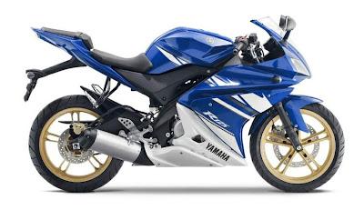 2010 Yamaha YZF-R 125 Sport Bike