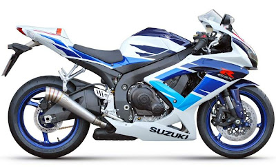 2010 Suzuki GSX-R 750 Limited Edition Sport Bike