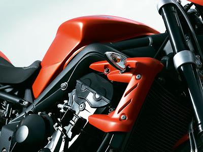 2010 Triumph Street Triple R Bodywork