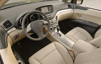 2010 Subaru Tribeca Interior