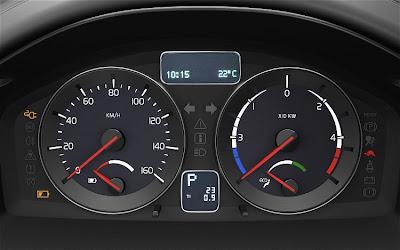 2010 Volvo C30 BEV Dashboard