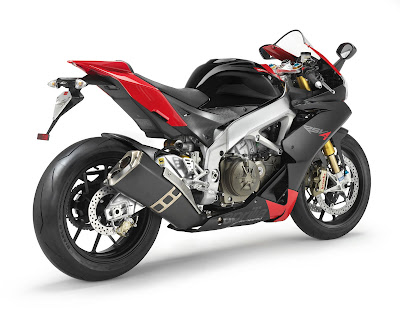 2010 Aprilia RSV4 Factory Rear Side View