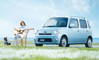2010 Daihatsu Mira Cocoa Car Wallpaper