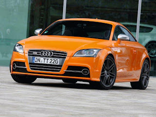2011 Audi TTS Coupe Front Angle View