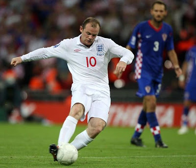 Wayne Rooney World Cup 2010 England Football Player