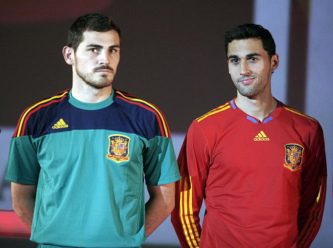 World Cup 2010 Spain Football Players