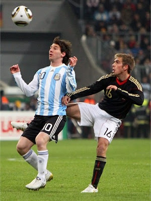 Lionel Messi World Cup 2010 Picture
