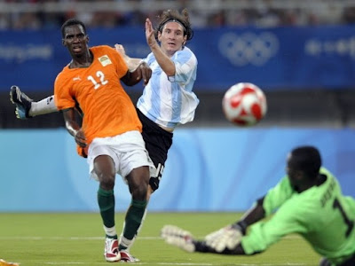 Lionel Messi World Cup 2010 Football Gallery