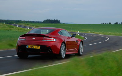 2011 Aston Martin V12 Vantage Rear Angle View