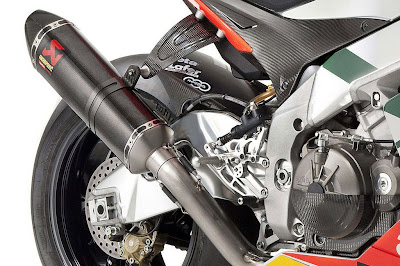 Aprilia RSV4 Max Biaggi Replica Racing Exhaust