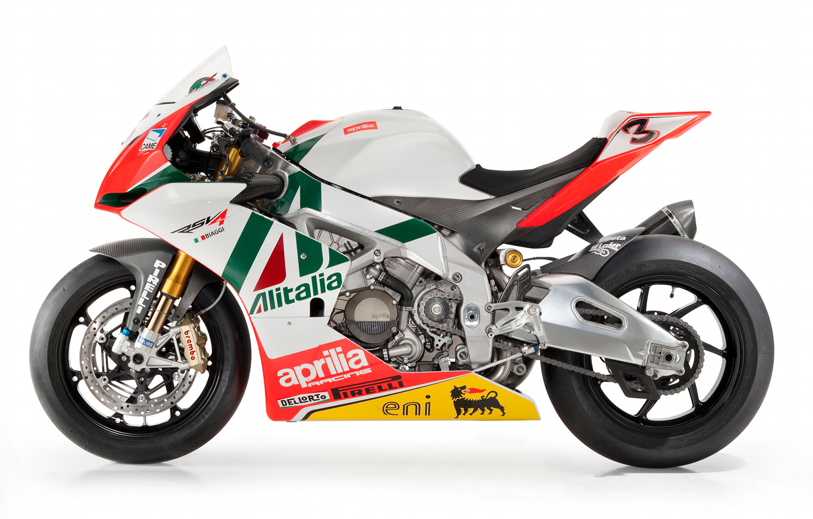 Aprilia RSV4 Max Biaggi Replica Superbike Photo title=