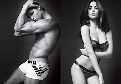Cristiano Ronaldo and Megan Fox Hot Pictures