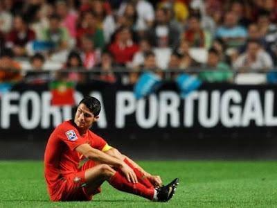 Cristiano Ronaldo Portugal World Cup 2010 Image